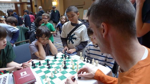 Photo courtesy of Chess Ninjas