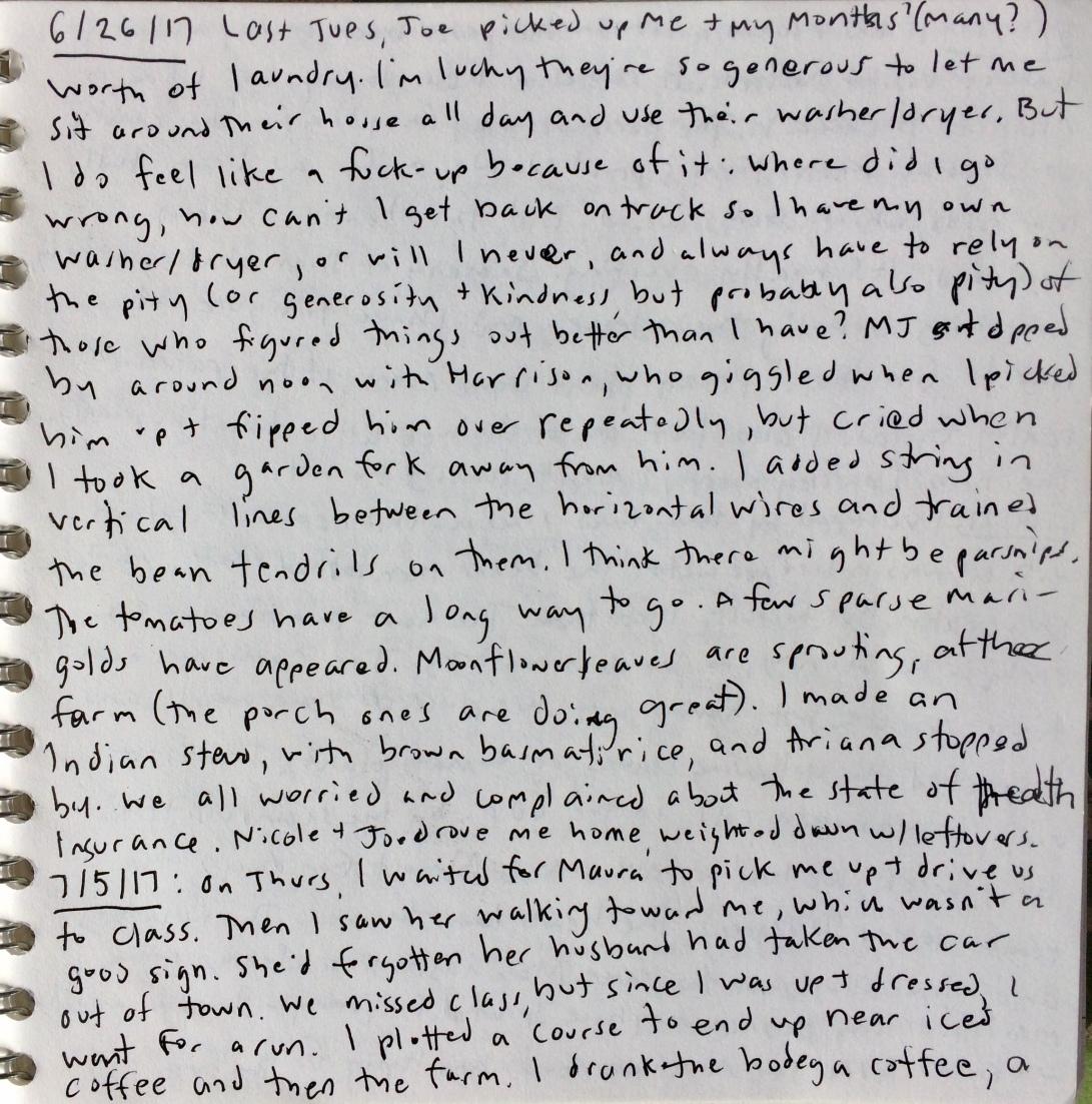 garden notes 5