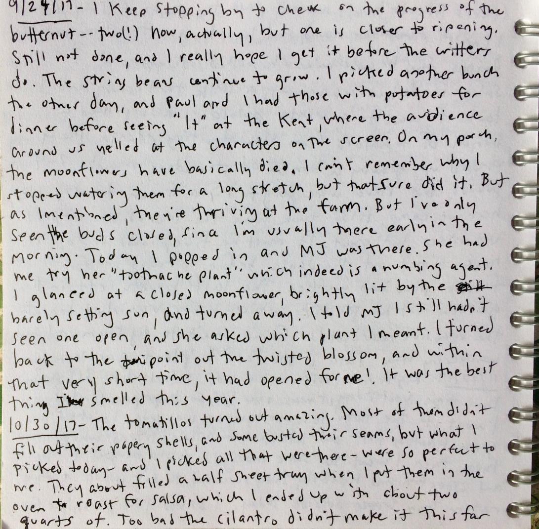 garden notes 8