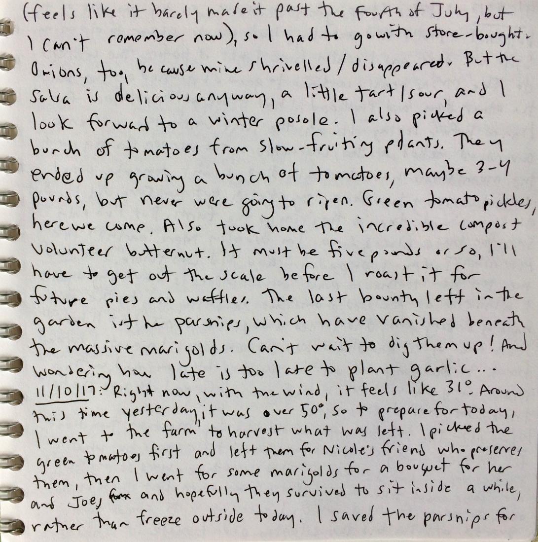 garden notes 9